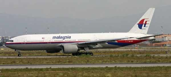image of air craft for flight MH17