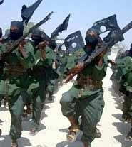 members of buko haram in training