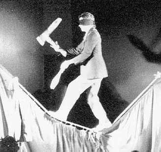 juggler on tight rope
