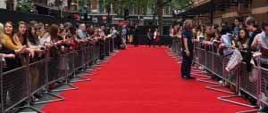 harry potter red carpet